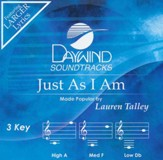 Just As I Am, Acc CD