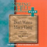 Don't Wanna Miss A Thing, Accompaniment CD