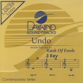 Undo, Accompaniment CD