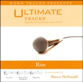 Ultimate Tracks - Rise - as made popular by Shawn McDonald [Performance Track] [Music Download]