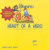 Heart Of A Hero, Accompaniment CD