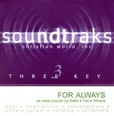 For Always, Accompaniment CD