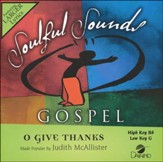 O Give Thanks, Acc CD