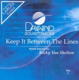 Keep It Between The Lines, Accompaniment CD