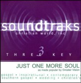 Just One More Soul, Accompaniment CD