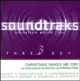 Christmas Makes Me Cry, Accompaniment CD