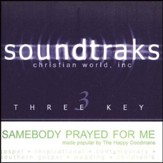 Somebody Prayed For Me, Acc CD