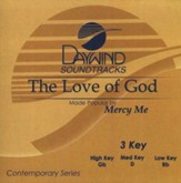 The Love Of God, Accompaniment CD