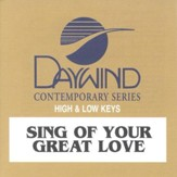 Sing of Your Great Love, Accompaniment CD