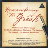 Remembering The Greats CD