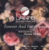Forever and For Always, Accompaniment CD