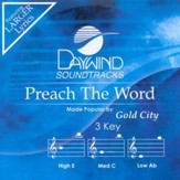 Preach The Word, Accompaniment CD