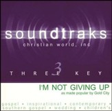 I'm Not Giving Up, Accompaniment CD