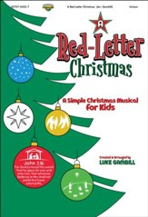 A Red-Letter Christmas: A Simple Christmas Musical for Kids (Listening CD)