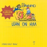 Lean On Him, Accompaniment CD