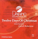 Twelve Days of Christmas, Accompaniment CD