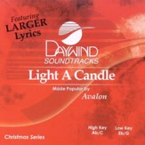 Light a Candle, Accompaniment CD
