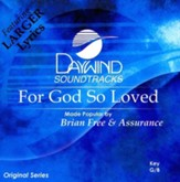 For God So Loved, Accompaniment CD