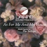 As For Me And My House, Accompaniment CD