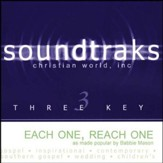 Each One, Reach One, Accompaniment CD