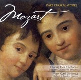 Mozart: Rare Choral Works CD