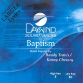 Baptism, Accompaniment CD