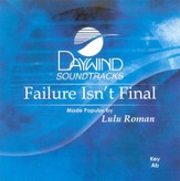 Failure Isn't Final, Accompaniment CD