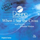 When I See The Cross, Accompaniment CD