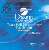 Tears Will Never Stain the Streets, Accompaniment CD