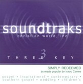 Simply Redeemed, Accompaniment CD