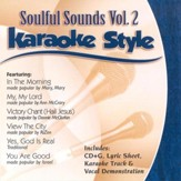 Soulful Sounds, Volume 2, Karaoke Style CD