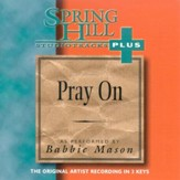 Pray On, Accompaniment CD