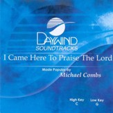 I Came Here to Praise the Lord, Accompaniment CD