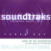 Land Of No Goodbyes, Accompaniment CD