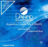 America Gives Me Liberty, Accompaniment CD