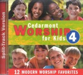 Cedarmont Worship for Kids: Volume 4 (with Split Tracks), CD