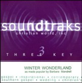 Winter Wonderland, Accompaniment CD