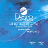 Let The Blood Of Calvary Speak For Me, Accompaniment CD