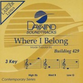 Where I Belong Acc, CD