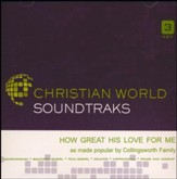 How Great His Love for Me, Accompaniment CD