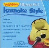 Silly Songs, Volume 2, Karaoke Style CD