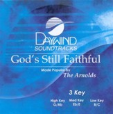God's Still Faithful, Accompaniment CD