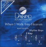 When I Walk Into Heaven, Accompaniment CD