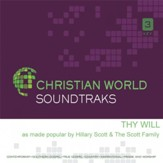 Thy Will, Acc CD  - Slightly Imperfect