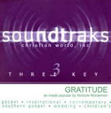 Gratitude, Accompaniment CD