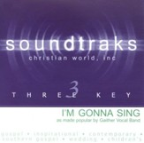 I'm Gonna Sing, Accompaniment CD
