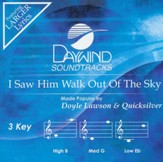 I Saw Him Walk Out of the Sky Acc, CD