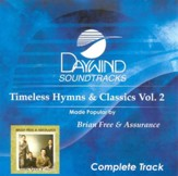 Timeless Hymns & Classics, Volume 2, Complete CD Tracks