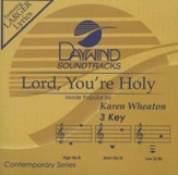 Lord, You're Holy, Accompaniment CD