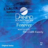 Forever, Accompaniment CD